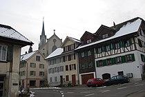 Villmergen centro rigardo al la preghejo 325.jpg