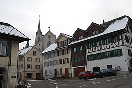Villmergen - Villmergen village center