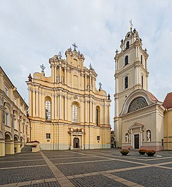 Vilnius University Great Courtyard 1, Vilnius, Lithuania - Diliff.jpg
