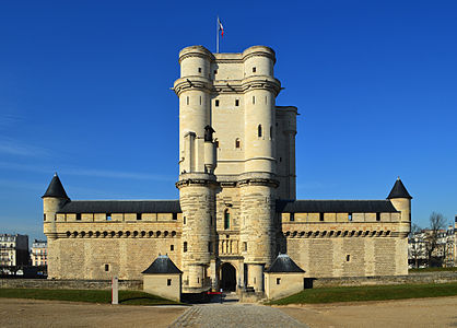 Castle of Vincennes, Paris, France