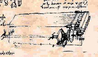 Viola organista - Viola organista (Codex Atlanticus, 1488–1489)