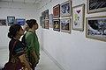 Visitors At Inaugural Day - 45th PAD Group Exhibition - Kolkata 2019-06-01 1265.JPG
