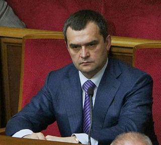 Vitaliy Zakharchenko former Ukrainian Minister of Internal Affairs