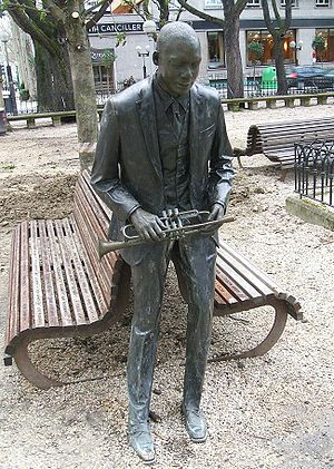 Wynton Marsalis - Statue dedicated to Wynton Marsalis in Vitoria-Gasteiz, Spain