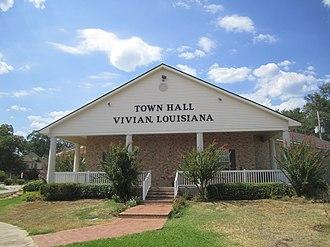 Vivian, Louisiana - Vivian Town Hall