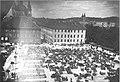 Vodnikov trg s semeniščem in škofijskim župniščem 1930.jpg