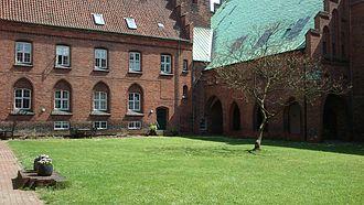 Klostergade - Image: Vor Frue Kloster 4