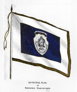 Symbols of Springfield, Massachusetts - Image: Vrient Flg Springfield