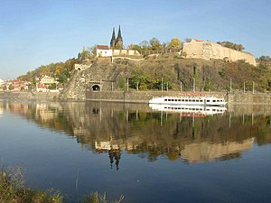 Symphonic poem - Vyšehrad over the Vltava River, evoked musically in the first poem of Smetana's Má vlast.