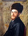 WLA jewishmuseum Man With Fur Hat by Isidor Kaufmann.jpg