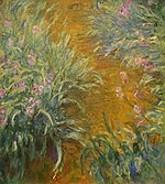 WLA metmuseum The Path through the Irises by Claude Monet.jpg