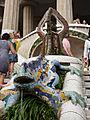 WLM14ES - Barcelona Salamandra y escalera 400 23 de julio de 2011 - .jpg