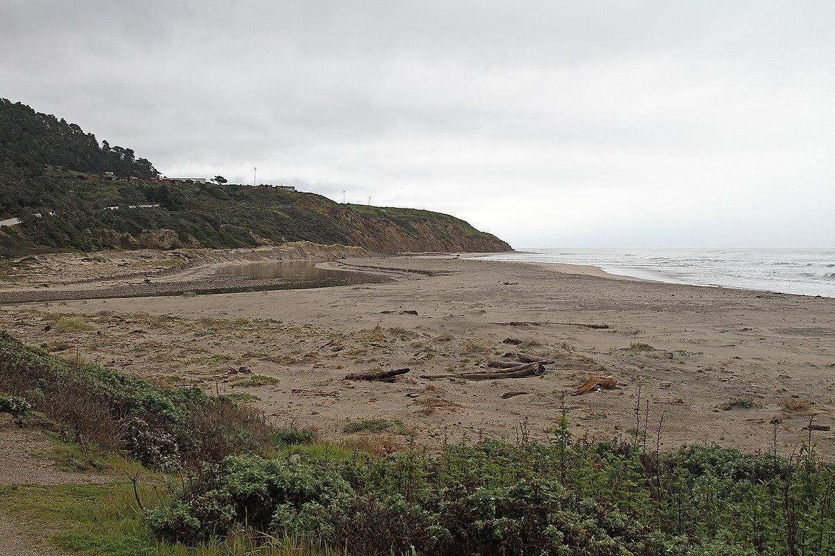 Waddell Creek Beach California