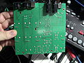 Waldorf Rocket Synthesizer teardown - circuitboard rear side.jpg