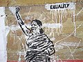 Wall Stencil for Women's Equality - Varanasi - Uttar Pradesh - India (12480151013).jpg