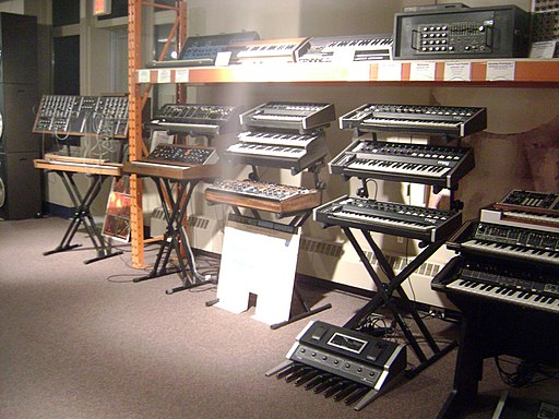 Wall of MOOG