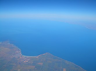 Wallaroo, South Australia - Image: Wallaroo aerial view 1218