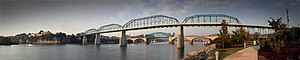 Walnut Street Bridge (Chattanooga) - Image: Walnut street bridge