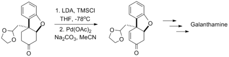 Tu synthesis of galantamine