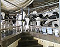 Wanner's Farm Narvon Pennsylvania milking parlour cows waiting.jpg