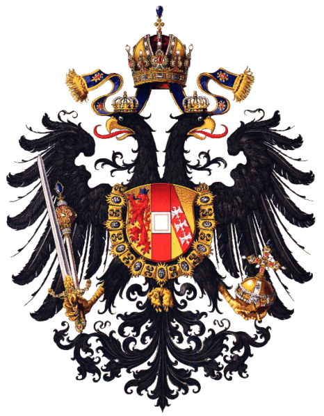 Soubor:Wappen Kaisertum Österreich 1815 (Klein).png