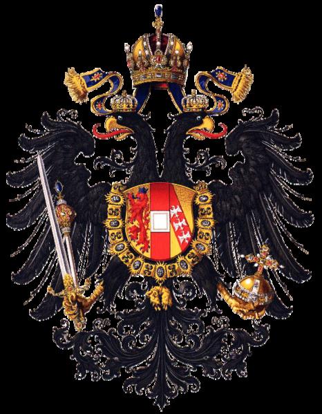 File:Wappen Kaisertum Österreich 1815 (Klein).png