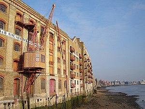 Wharf - Image: Wapping king henrys wharf 1
