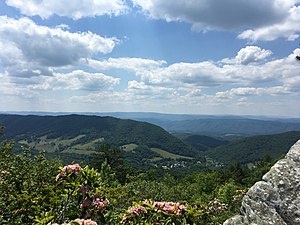 Bath County, Virginia - Warm Springs Valley