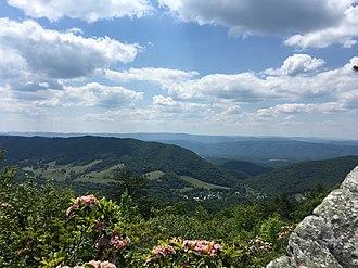 Bath County, Virginia - Warm Springs Valley