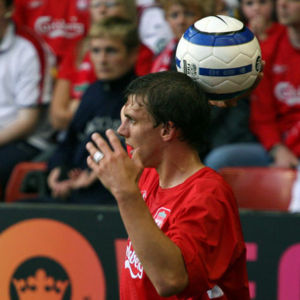 Stephen Warnock - Warnock playing for Liverpool in 2005