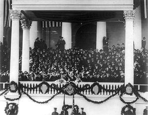 Presidency of Warren G. Harding - Inauguration of Warren G. Harding, March 4, 1921.