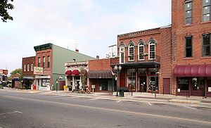 Warsaw, Indiana - Downtown Warsaw in October 2005