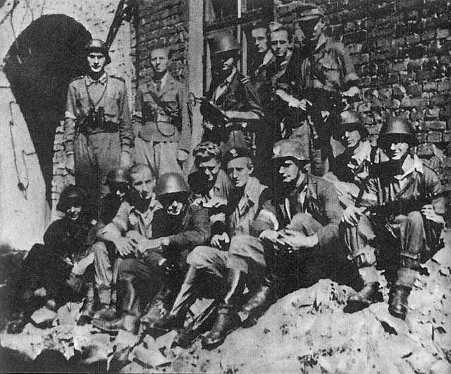Warsaw Uprising - Batalion Baszta