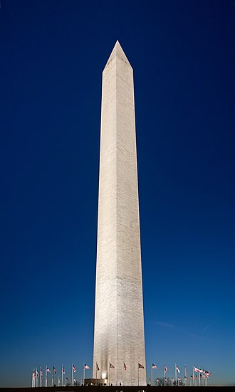 48th United States Congress - Washington Monument (seen here in 2006) was completed December 6, 1884.