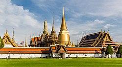 Ват Пхра Кео, один из самых священных храмов Бангкока.