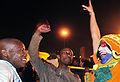 Watching World Cup final in Johannesburg 2010-07-11 10.jpg