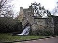 Waterfall Swan Lane West Malling - geograph.org.uk - 1751991.jpg