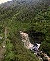 Waterfall on Mir Gill - geograph.org.uk - 1410910.jpg