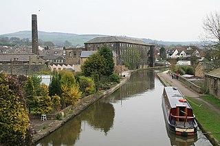 Silsden Town and civil parish in West Yorkshire, England
