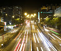 Waterloo Road, Hong Kong at night (second revised).jpg