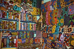 Waxprints in a West African Shop.jpg
