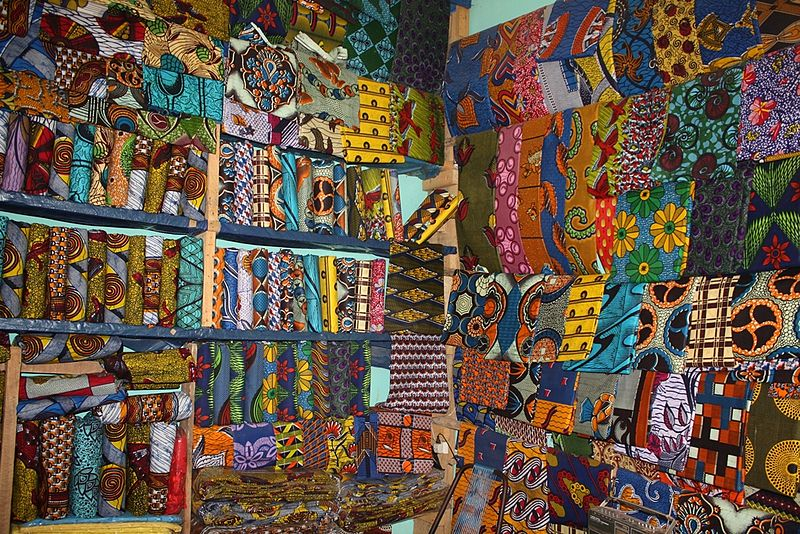 File:Waxprints in a West African Shop.jpg