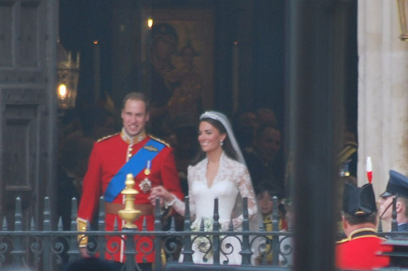 Wedding of Prince William of Wales and Kate Middleton twofourseven couple