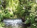 Weir on the River Tarrant near Tarrant Crawford - geograph.org.uk - 452279.jpg