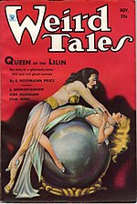 Weird Tales cover image for November 1934