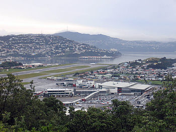 English: Wellington Airport, New Zealand.
