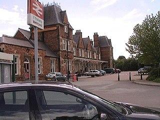 Welshpool railway station