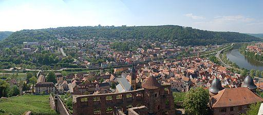 Wertheim (Germany) - 11 - Panorama der Stadt