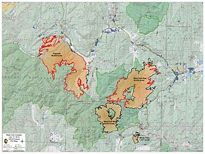 West Fork Complex - Final map of the West Fork Complex July 13, 2013