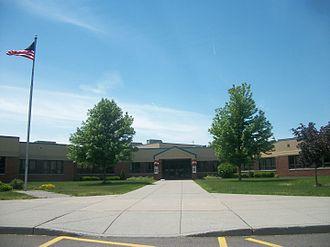 Niagara-Wheatfield Central School District - Image: West Street School Sanborn